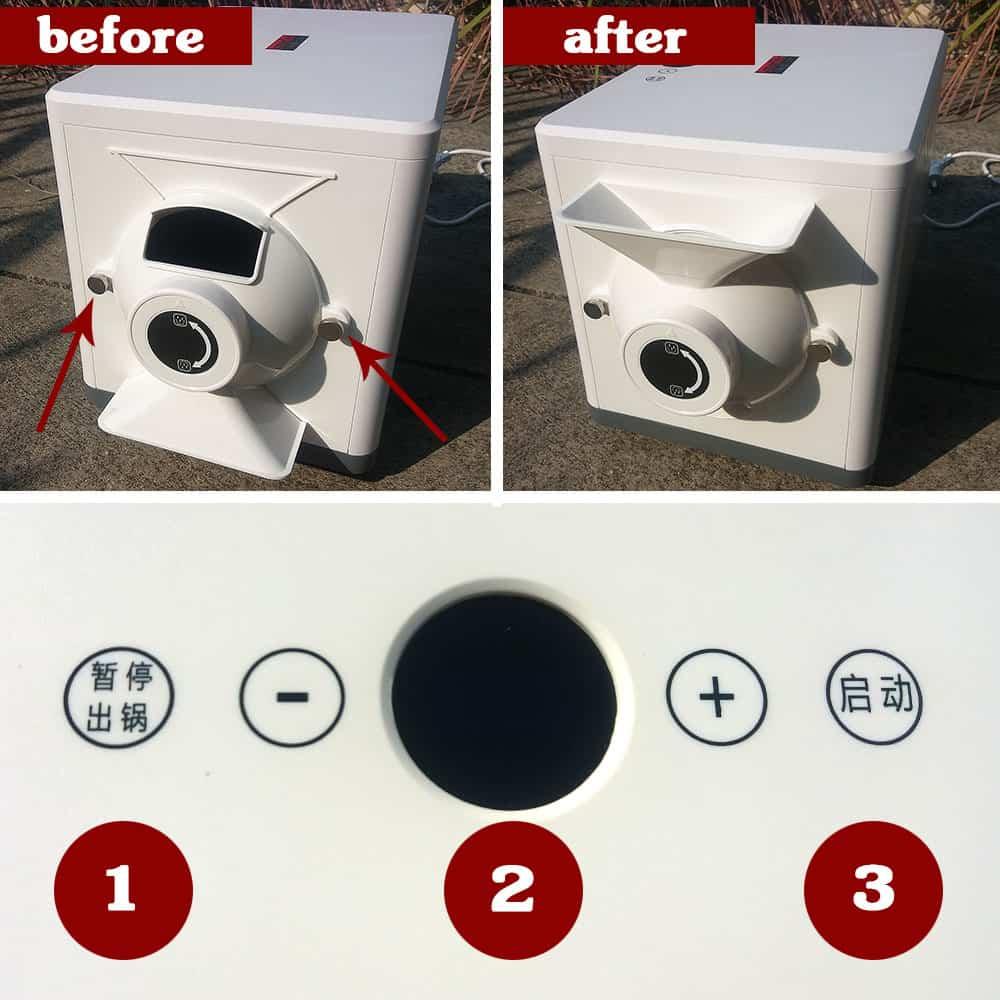 Lasantec coffee roaster - how to operate