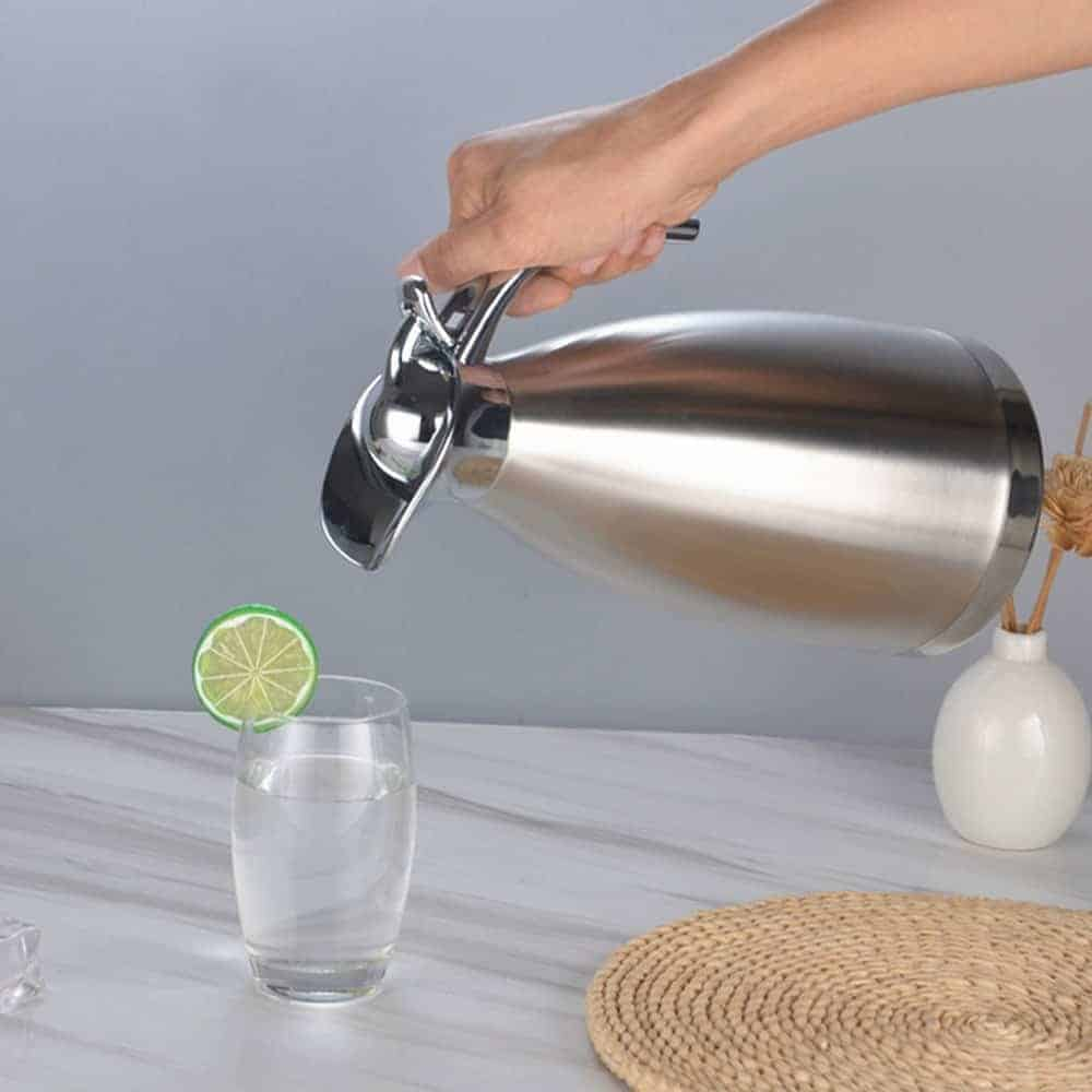 Stainless Steel Vacuum Jug with Double Walls